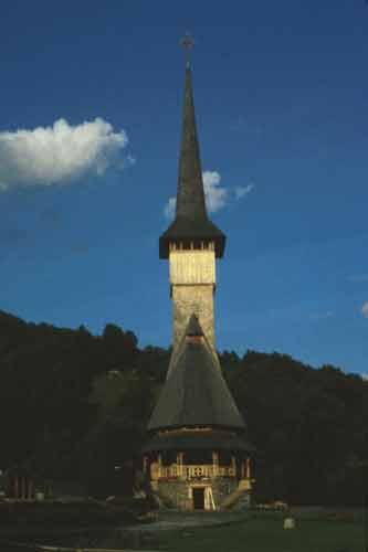 Romania,August 1999 - Steeple