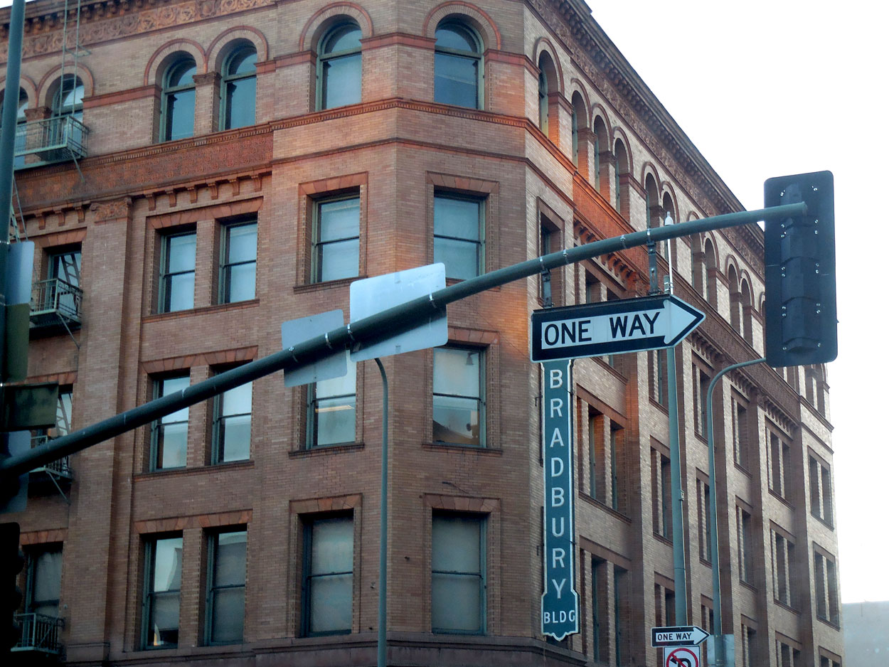 One Way - Bradbury Building