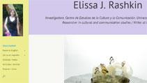 Elissa Rashkin website