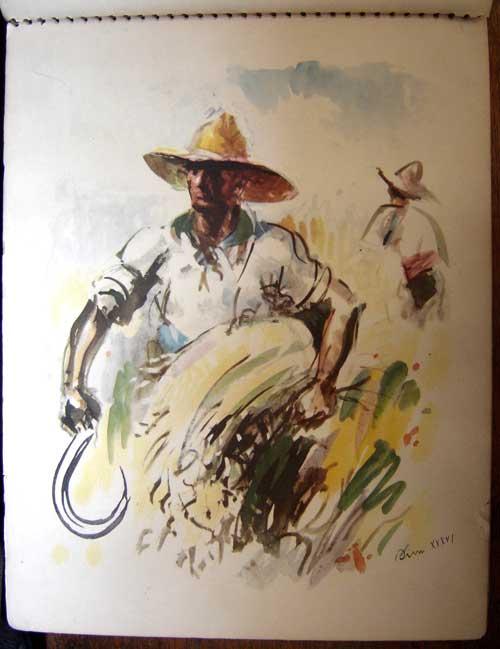 Estampas de la Revolutión Española - The Harvest