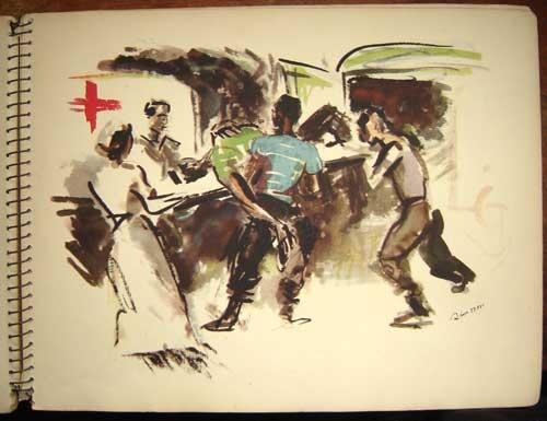 Estampas de la Revolutión Española - The Last Embrace