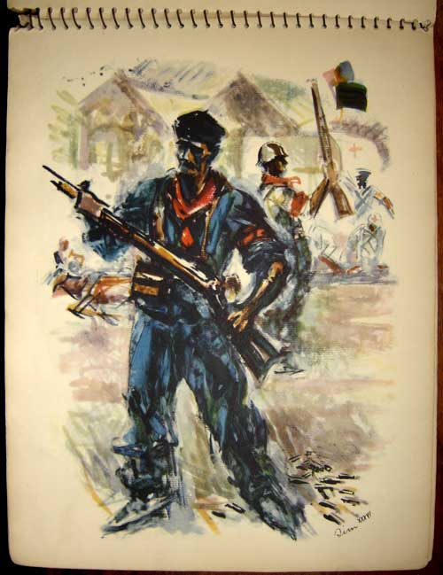 Estampas de la Revolutión Española - The Raillwayman
