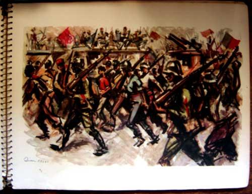 Estampas de la Revolutión Española - Triumphal March