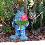 Frog garden gnome
