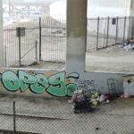 Graffiti along LA River