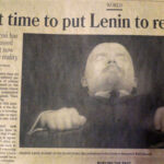 Newpaper pager; Is it time to put Lenin to rest
