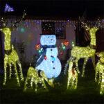 Christmas lights in the 'hood