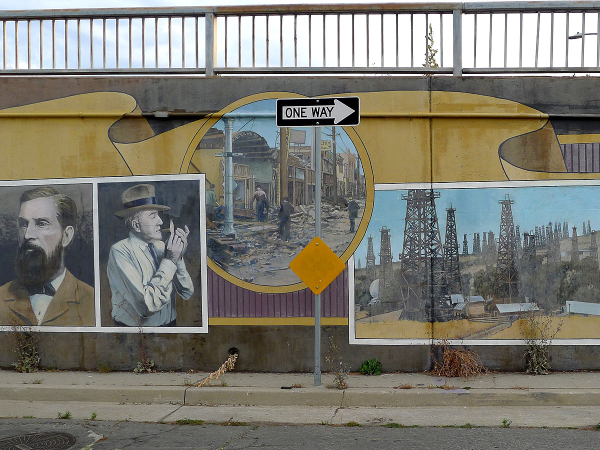 One Way - Willmore mural